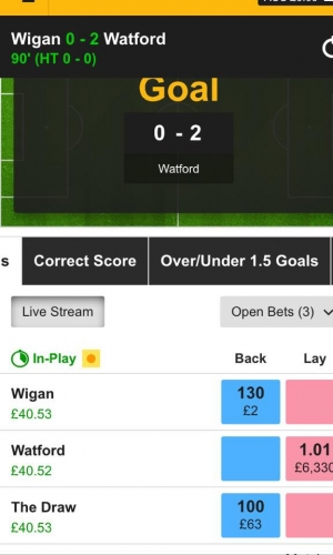 Our Watford tip returned over 100% ROI!