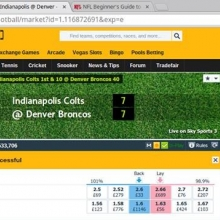 These members made a mint on the Colts v Broncos tip we gave out last night!