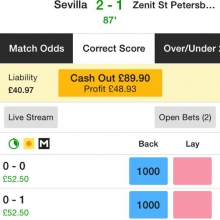 A lovely late goal in Sevilla wins us another score and draw lay