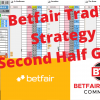 Betfair Trading Strategy